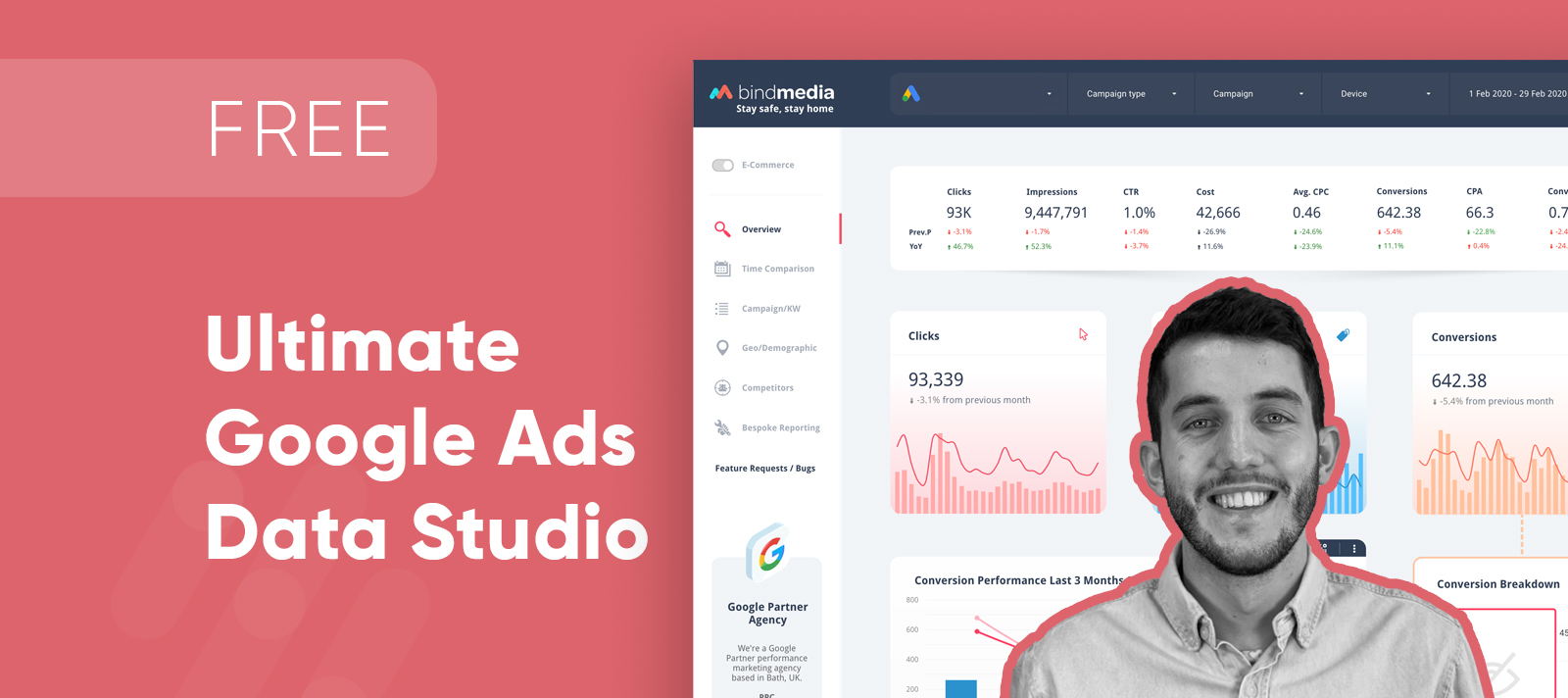 Google Data Studio Template