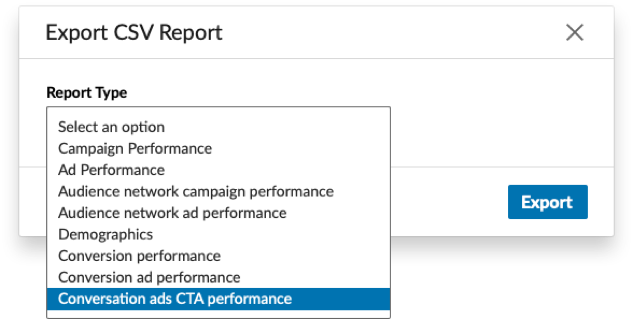 LinkedIn Conversation Ad Reporting