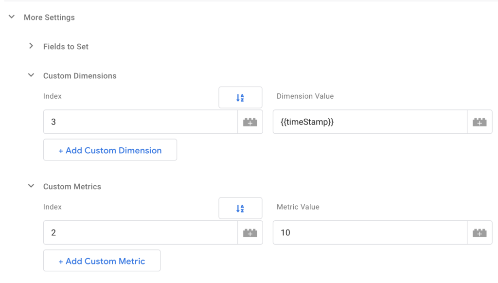 Custom Dimensions in Google Tag Manager