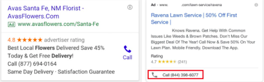 Call Extension Example